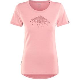 Mammut Alnasca Shortsleeve Shirt Women pink
